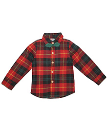 Cherubbaby Checkered Shirt - Red