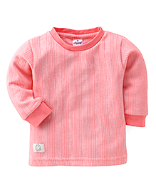 Ollypop Full Sleeves Winter Wear T-Shirt - Pink