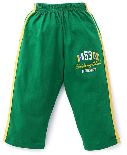 Olio Kids Track Pant 53 Print - Green
