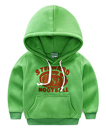 Pre Order - Mauve Collection Trendy Hooded Sweatshirt - Green