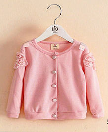 Pre Order - Mauve Collection Front Open Cardigan - Pink