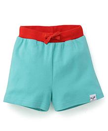 Pinehill Contrast Waistband Shorts - Light Green