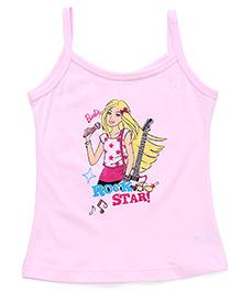 Bodycare Singlet Slip Barbie Print - Pink