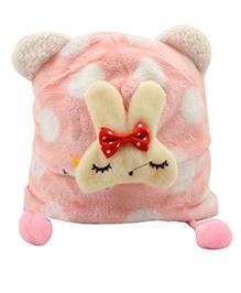 Tiekart Bunny Ear Cap - Pink