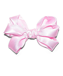 Bling & Bows Radiant Bow Hair Clip - Baby Pink