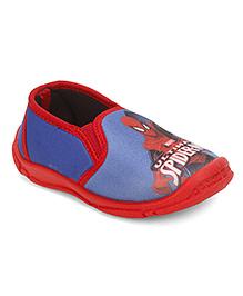 Spider Man Slip On Canvas Shoes - Blue