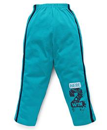 Taeko Full Length Track Pants - Sea Green