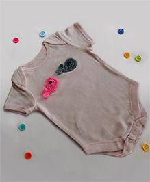 Dollops Of Sunshine Whale Onesie - Pink
