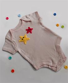 Dollops Of Sunshine Starfish Onesie - Pink