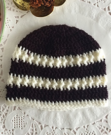 Buttercup From Knittingnani Textured Cap - Brown