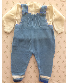 Buttercup From Knittingnani Jumpsuit - Blue