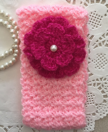 Buttercup From Knittingnani Ear Warmers - Pink