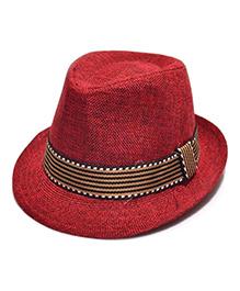 Little Cuddle Stylish Cowboy Hat - Maroon