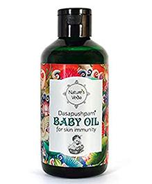 Nature's Veda Dasapushpam Baby Oil - 150 Ml