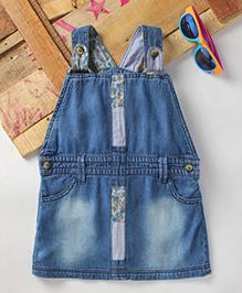 Eimoie Girls Casual Denim Dress - Blue