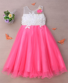 Eiora Classy Party Gown - Pink