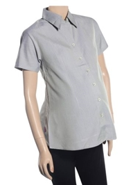 Uzazi - Maternity Wear Half Sleeve collar Shirt