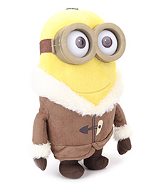 Minions Ice Age Large Soft Toy Yellow Brown - 16 Cm