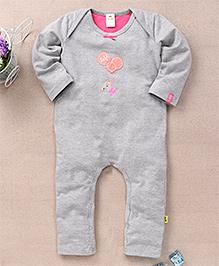 Tiny Bee Infant Trendy Playsuit - Grey Melange