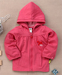 Tiny Bee Infant Hooded Jacket - Pink