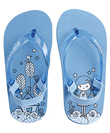 Flipside Kids Sweet Home Boys Flipflops - Yellow