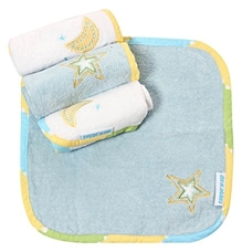 Abracadabra - Face Washer Star and Moon Set