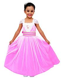 Kilkari Cap Sleeve Party Gown - Pink