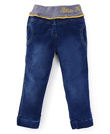 Little Kangaroos Full Length Pants - Dark Blue