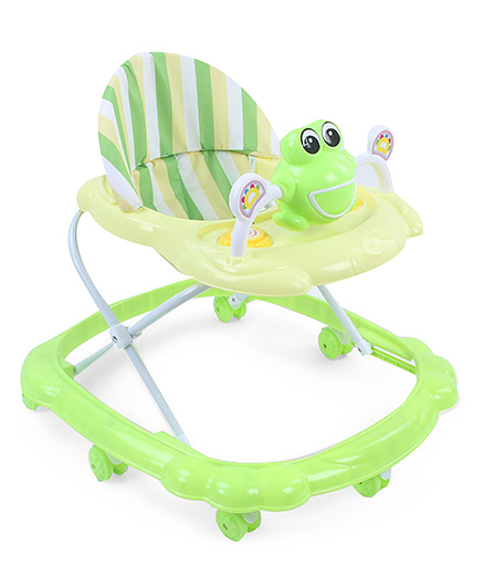 Musical Baby Walker Froggy Design - Green