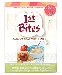 Pristine 1st Bites Wheat And Apple - 300 Grams