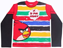 Angry Bird - Full Sleeves T-Shirt