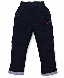 Jash Kids Turn-Up Hem Pant - Navy