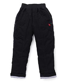 Jash Kids Turn-Up Hem Pant - Black