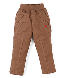 Jash Kids Full Length Pant - Khaki Brown