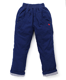 Jash Kids Turn-Up Hem Pant - Ink Blue