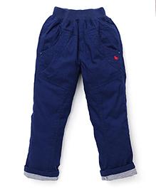 Jash Kids Turn-Up Hem Pant - Ink Blue