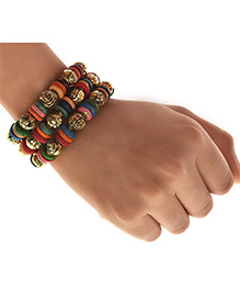 Miss Diva Elegant Traditional Bracelet - Multicolor