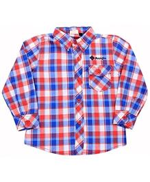 Full Sleeves Cotton Check Shirt