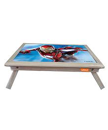 Orka Iron Man Digital Printed Folding Laptop Table - Blue