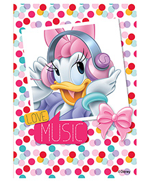 Orka Wall Poster Disney Daisy Love Music Digital Printed With Lamination - Multi Color