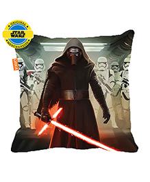 Orka Darth Vader Digital Printed Polyfill Cushion - Grey