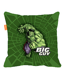 Orka Hulk Big Guy Digital Printed Micro Beads Cushion - Green