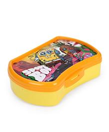 Jewel Selfie Clicker Big Sponge Bob Print Lunch Box - Yellow