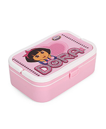 Jewel Big Boss 1 Dora Print Lunch Box - Pink