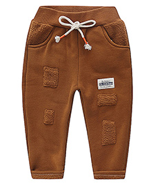 Awabox Rugged Look Pants Kids - Dark Yellow