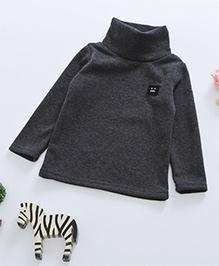 Awabox Fleece High Collar Inner Wear Top - Grey