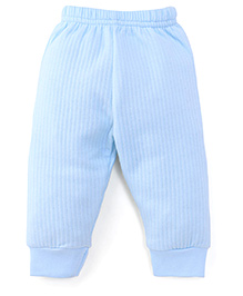 Little Darlings & Thermal Bootie Leggings - Blue