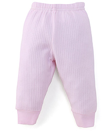 Little Darlings & Thermal Bootie Leggings - Pink