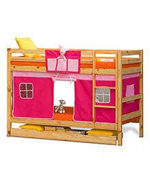 Alex Daisy Oslo Premium Bunk Bed - Pink