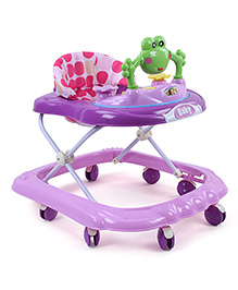 Musical Baby Walker With Inbuilt Play Tray (Color May Vary)